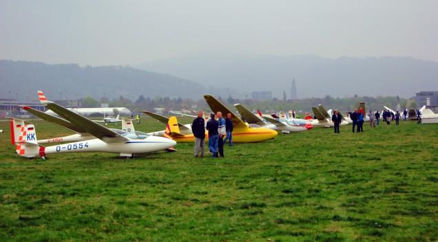 Saisonauftakt der Segelflieger Freiburg